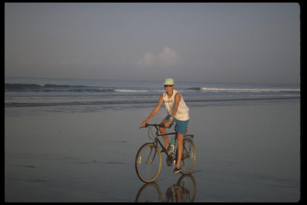 riding the Bali beaches